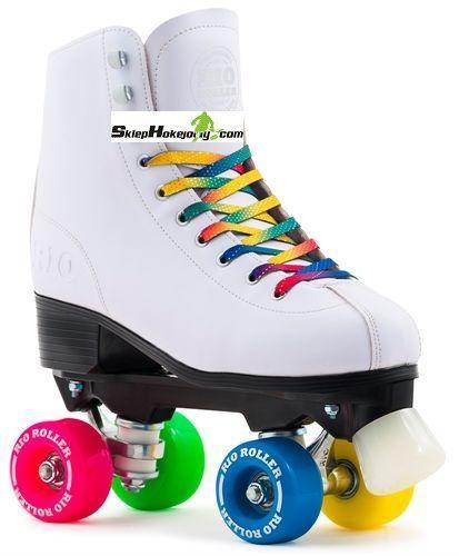 Wrotki Rio Roller Figure quad ( WHITE )
